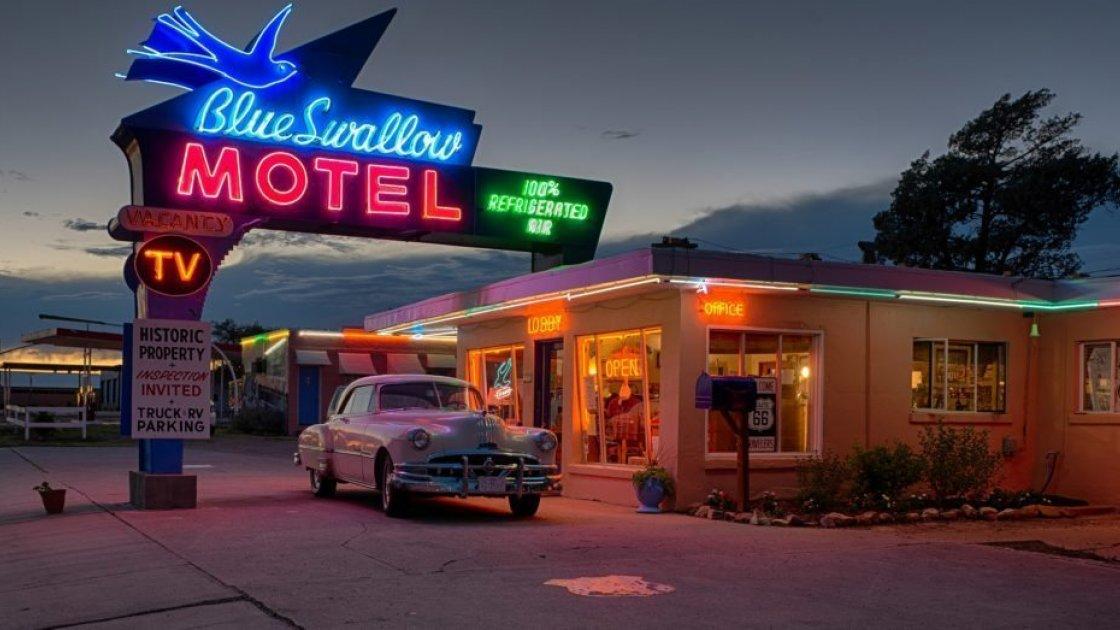 Американская трасса 66 - мотель