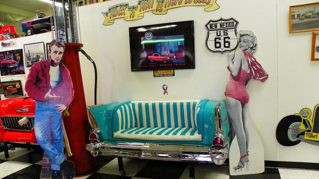 Американская трасса 66 - Санта Роса