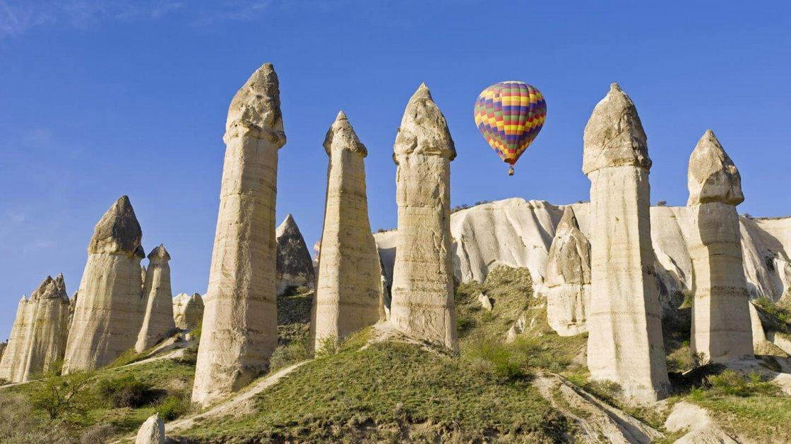 Каппадокия в Турции - Долина любви в Гёреме