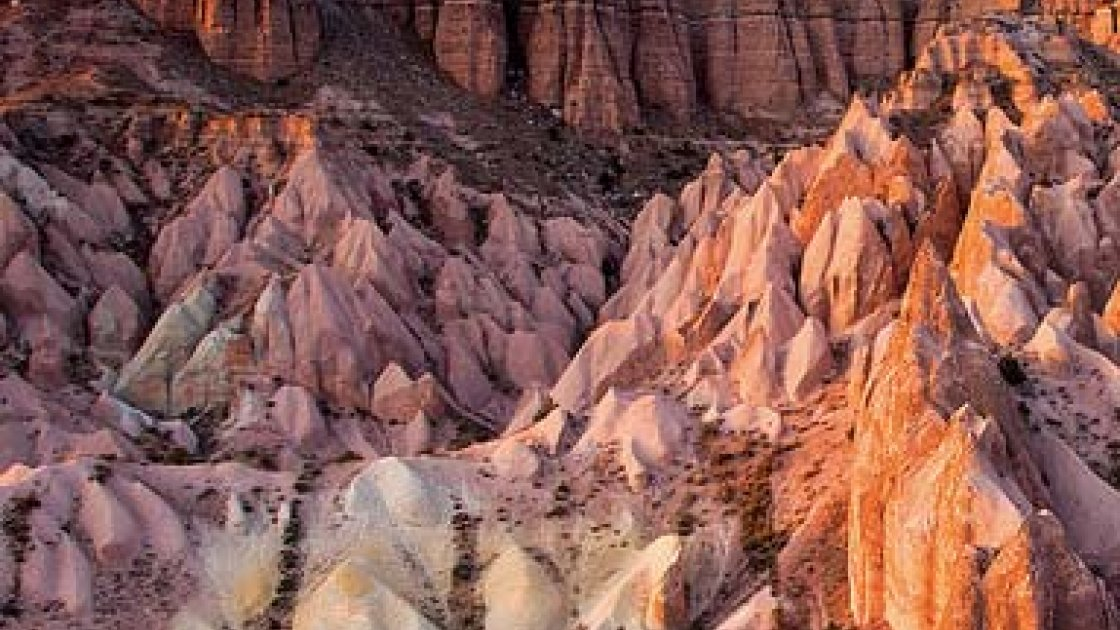 Каппадокия в Турции - Красная и Розовая долины