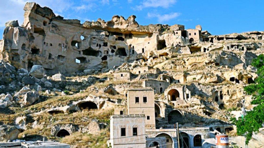 Каппадокия в Турции - Чавушин