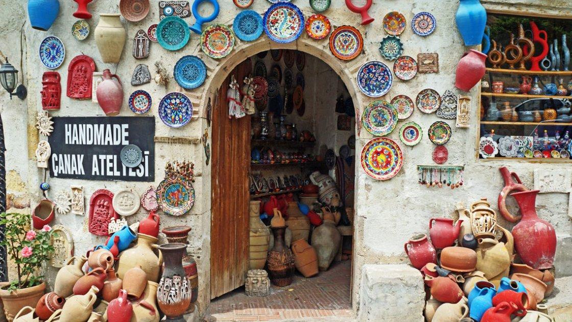 Каппадокия в Турции - Аванос
