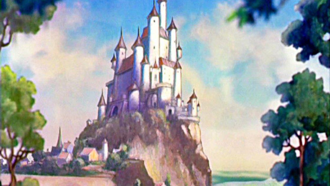 Алькасар Сеговии в Испании - замок Дисней