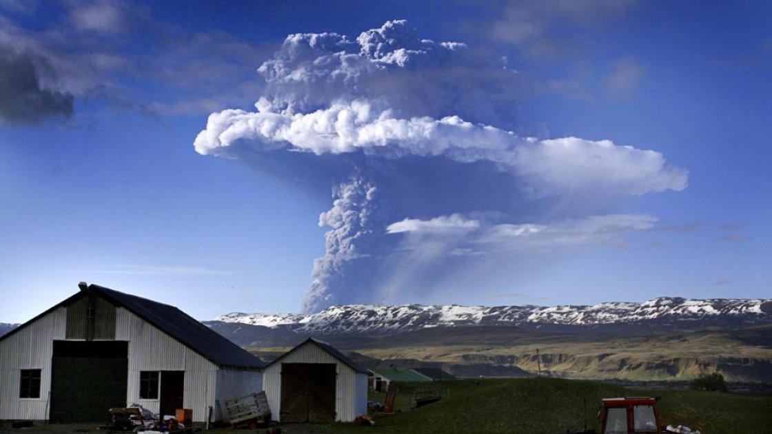 Ледник Ватнайёкюдль в Исландии - после тяния