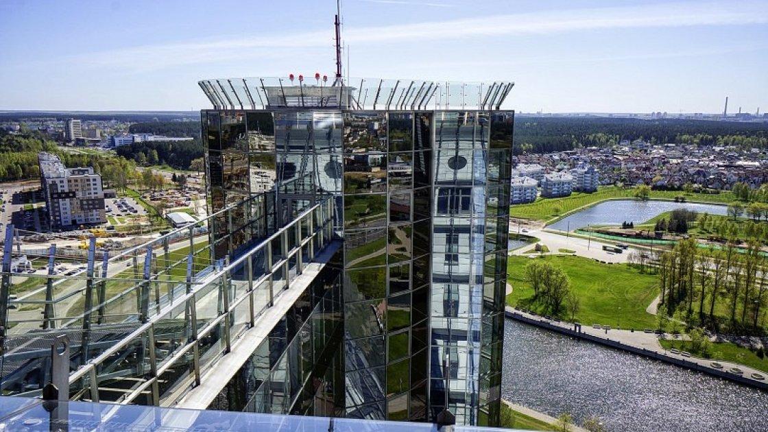 Национальная библиотека Беларуси - обзорная площадка