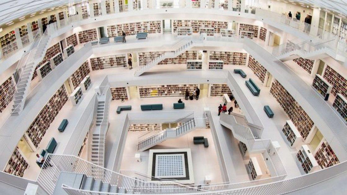 Национальная библиотека Беларуси - внутри