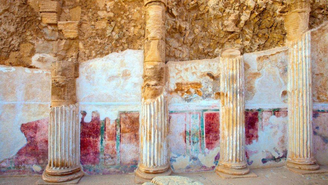 Крепость Масада в Израиле - неукротимость
