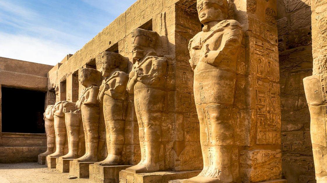 Карнакский храм в Египте – самое большое древнее сооружение