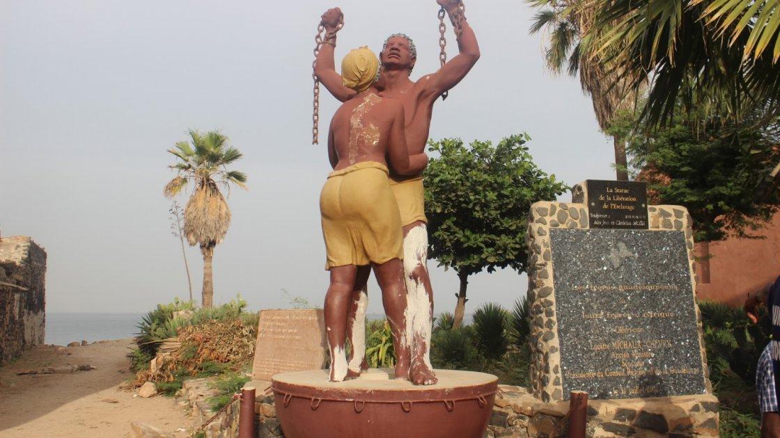 Остров Горе в Сенегале – скульптура