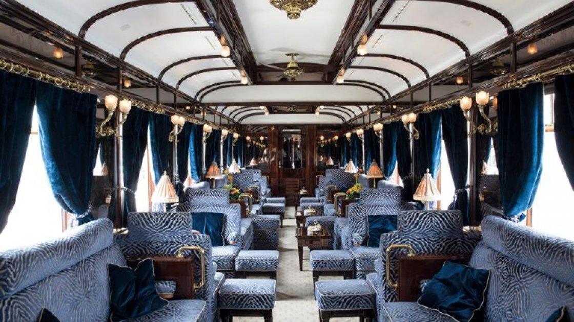Venice Simplon-Orient-Express - бар