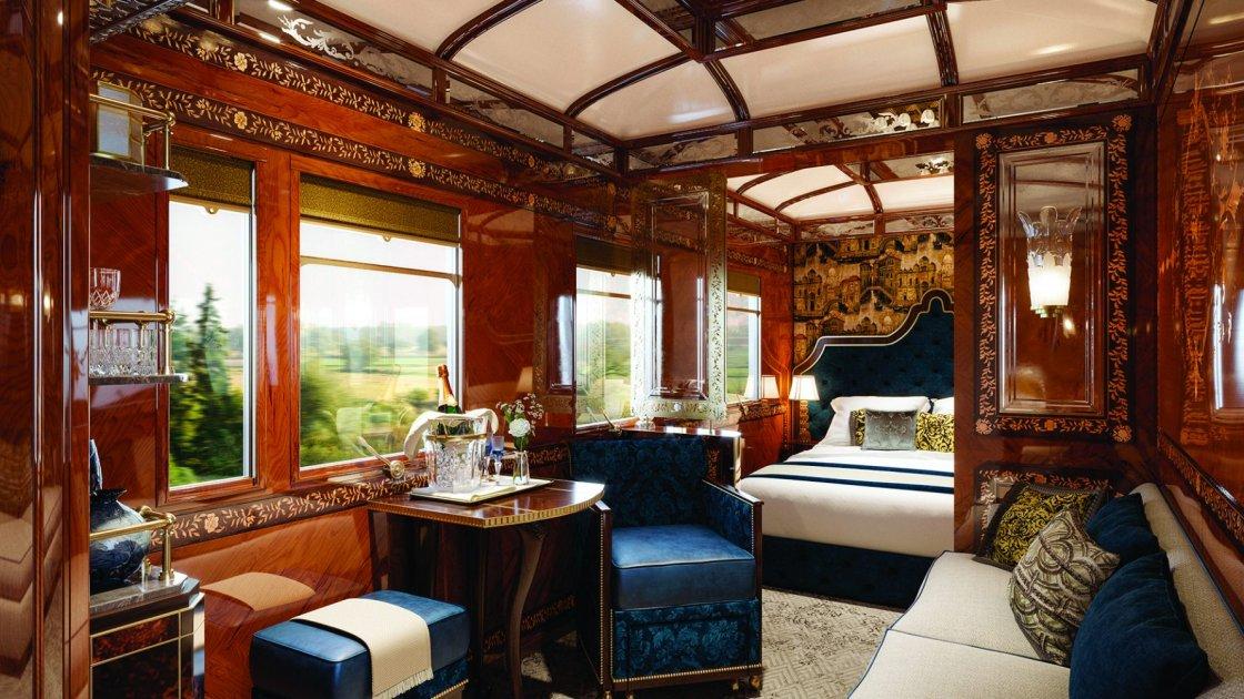 Venice Simplon-Orient-Express - внутри