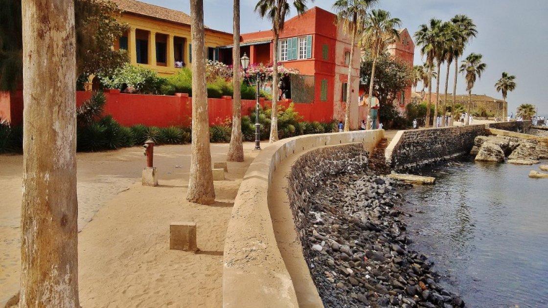 Остров Горе в Сенегале – набережная