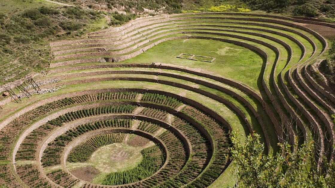 Мачу-Пикчу в Перу – террасы