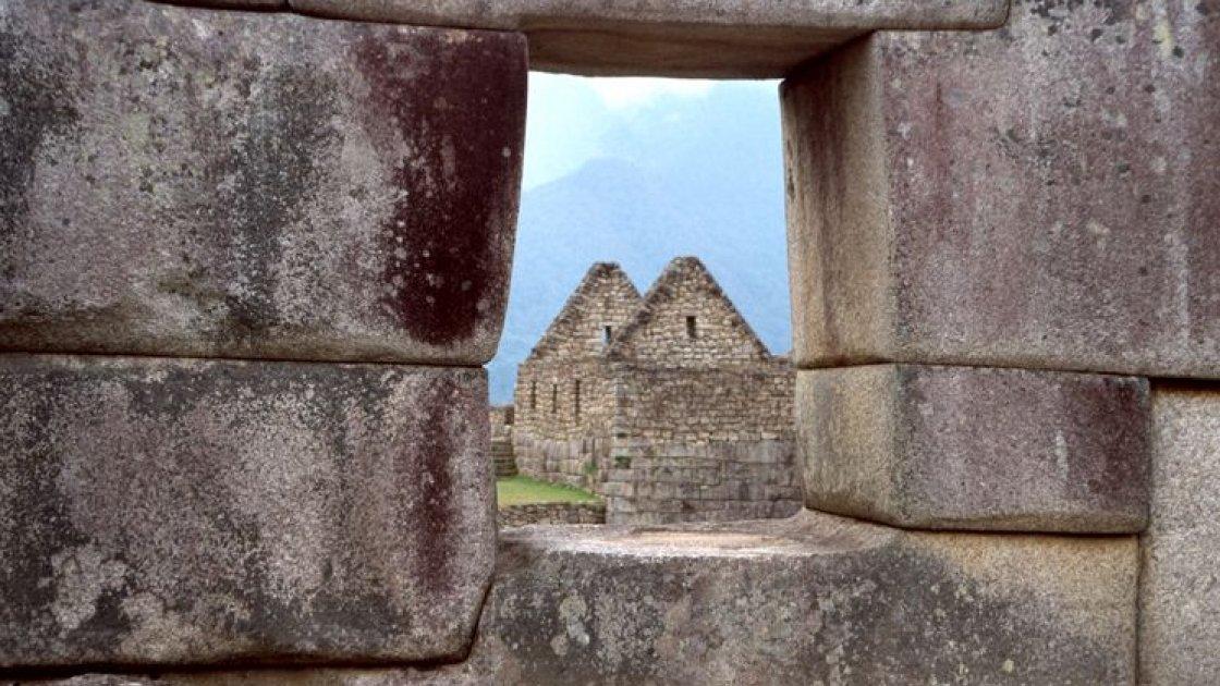 Мачу-Пикчу в Перу – стены