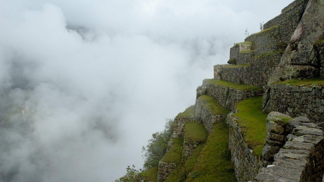 Мачу-Пикчу в Перу – в облаках