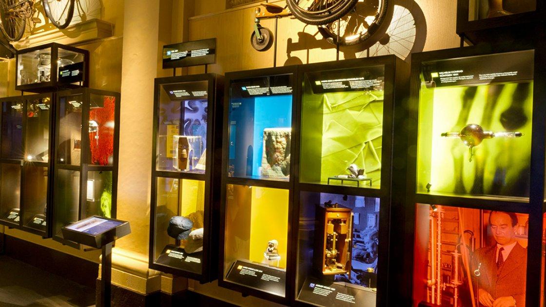 Нобелевский музей в Стокгольме - личные вещи