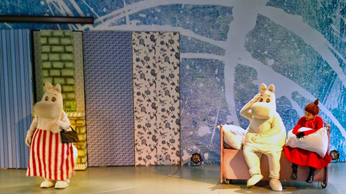 Долина Муми-троллей - представление