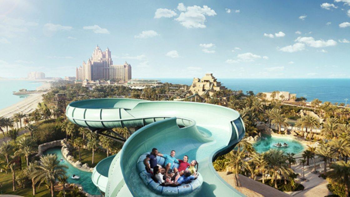 Аквапарк Wild Wadi в Дубае - семейная