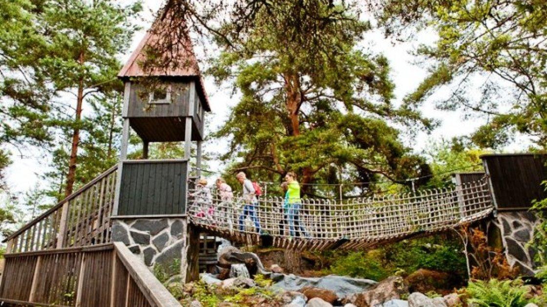 Долина Муми-троллей в Финляндии лабиринты