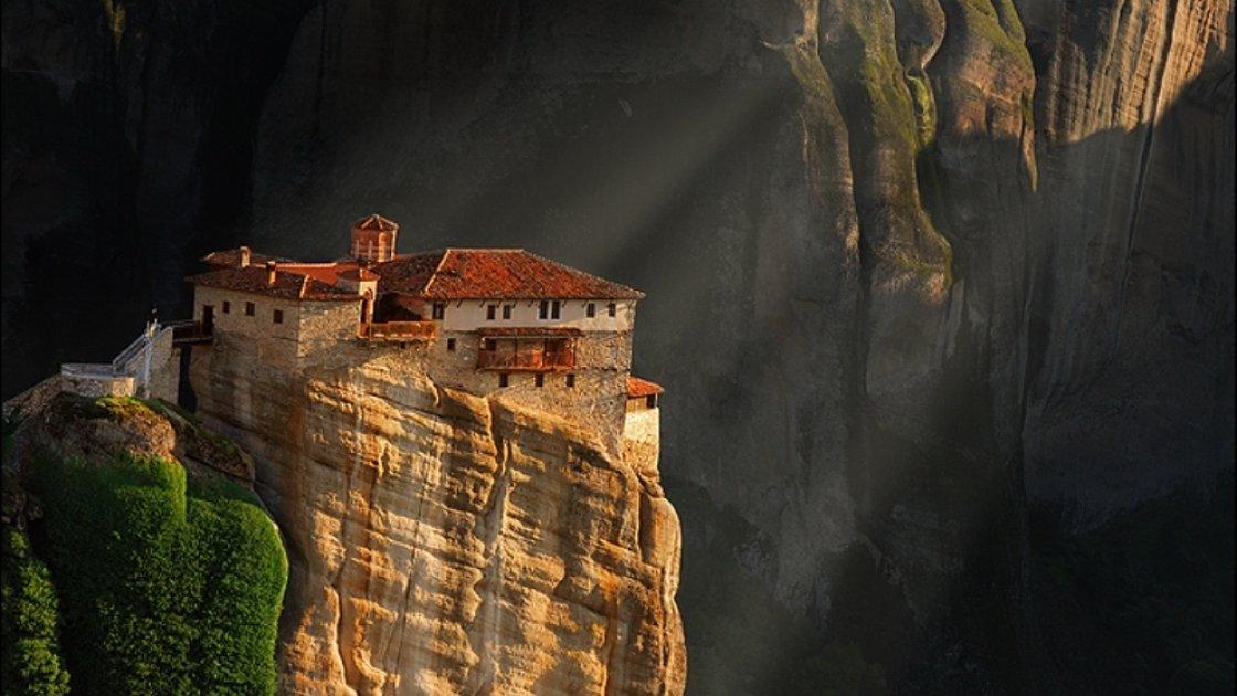 Монастыри Метеоры в Греции – 4
