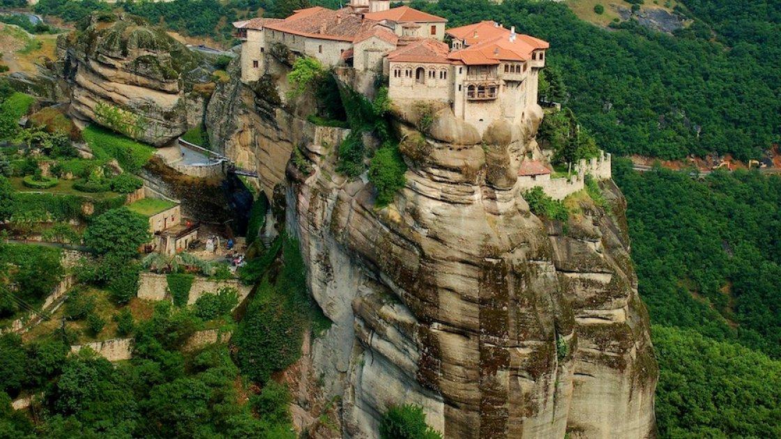 Монастыри Метеоры в Греции – 5