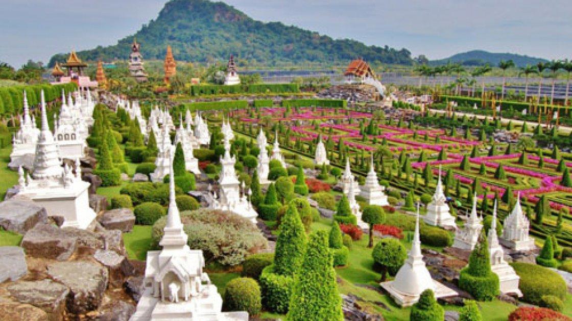 Тропический парк Нонг Нуч в Таиланде – 3
