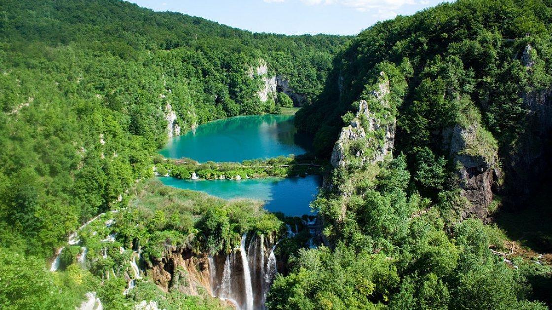 Плитвицкие озера в Хорватии-2