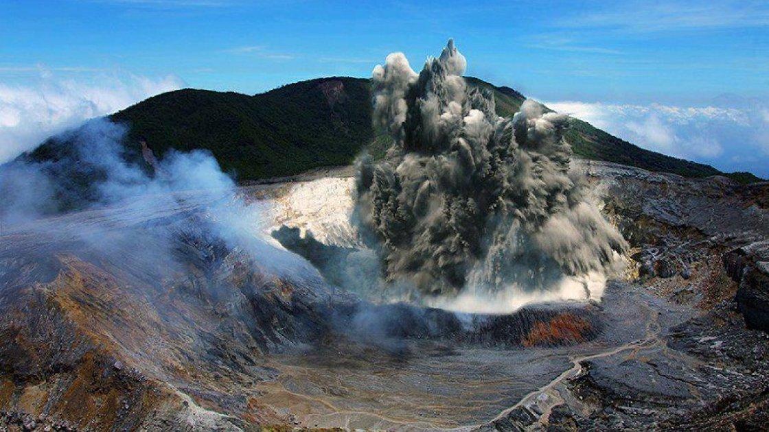 Вулкан Поас - 4