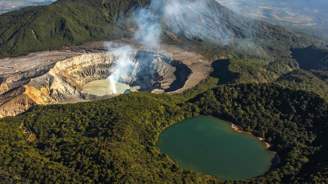 Вулкан Поас - 3