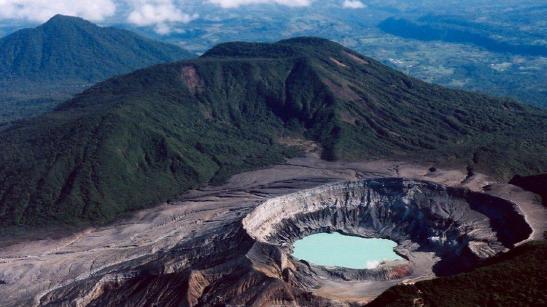 Вулкан Поас - 1