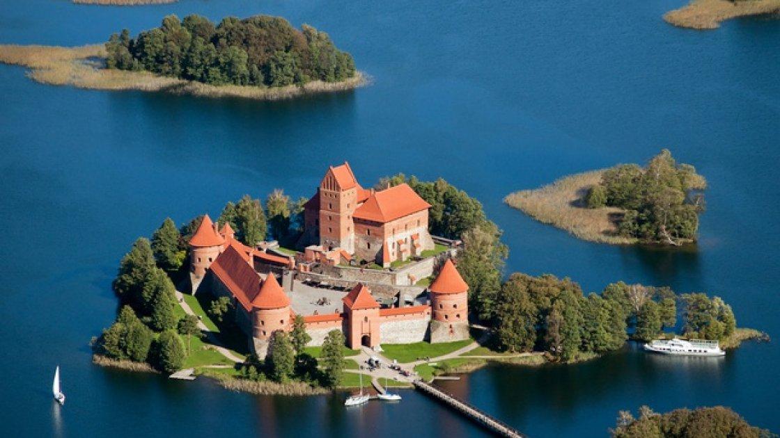 Тракайский замок в Литве – 4