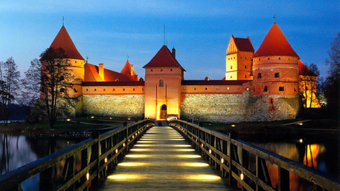 Тракайский замок в Литве – 2