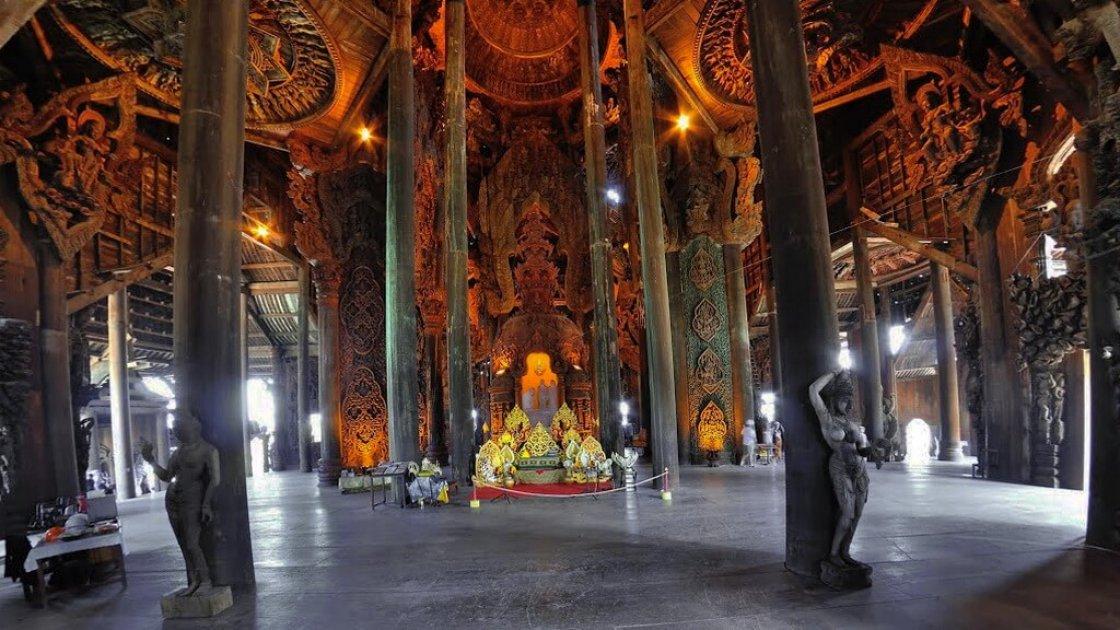 Храм Истины в Паттайе – 2