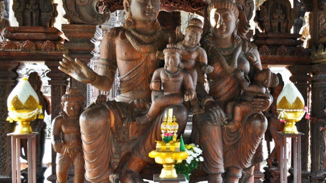 Храм Истины в Паттайе – 5