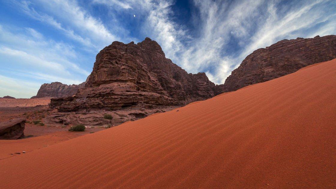 Пустыня Вади Рам в Иордании – 4