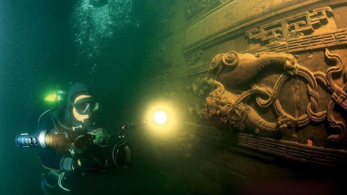 Подводный город Шичен в Китае – 3