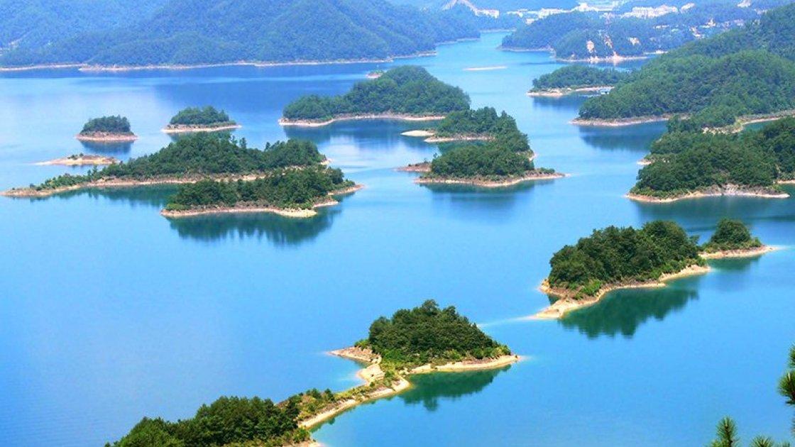 Подводный город Шичен в Китае – 1