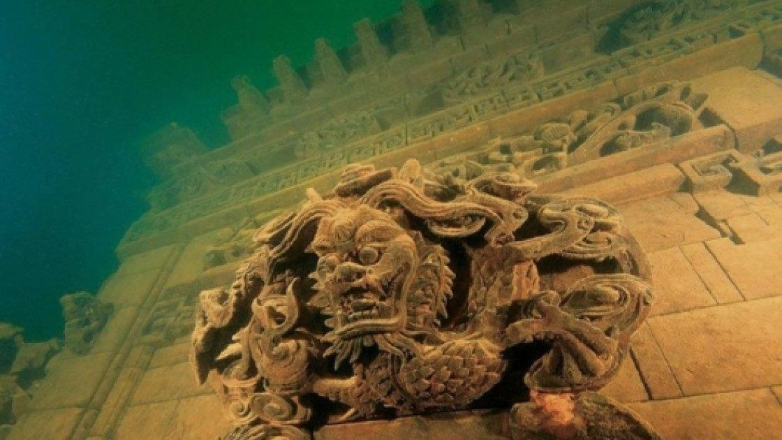 Подводный город Шичен в Китае – 2