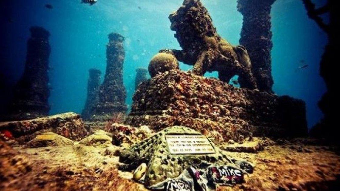 Подводный город Шичен в Китае – 5