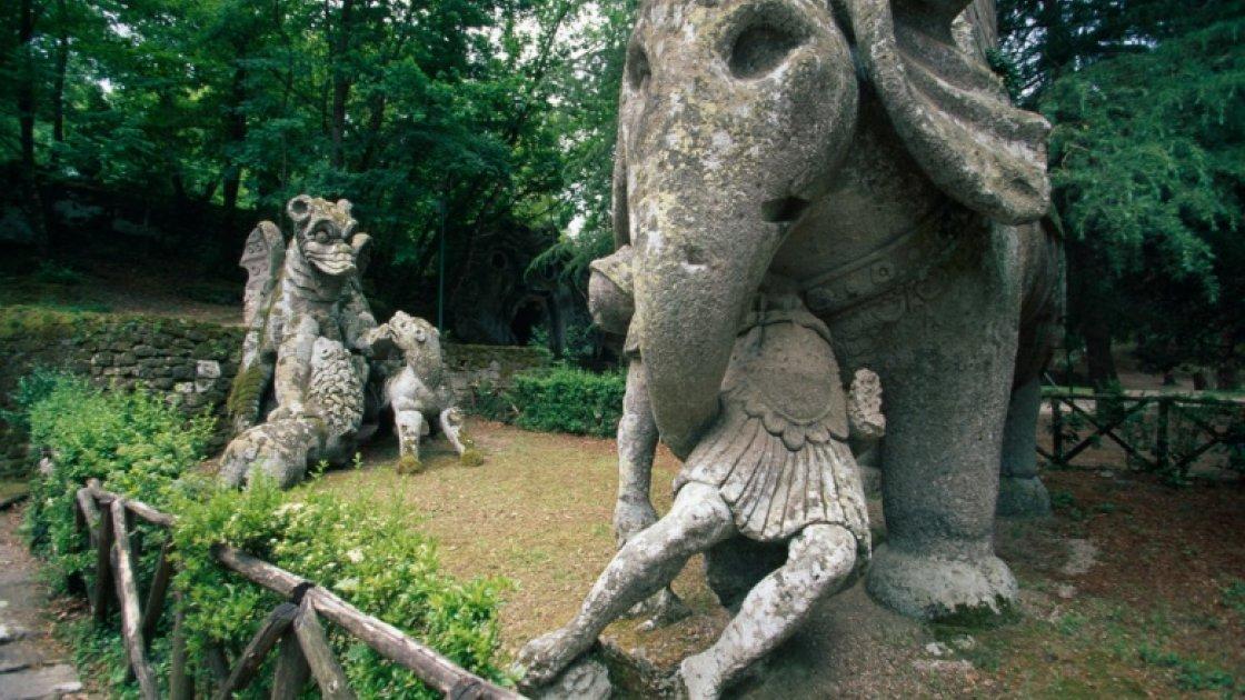 Священный лес в Италии – 5