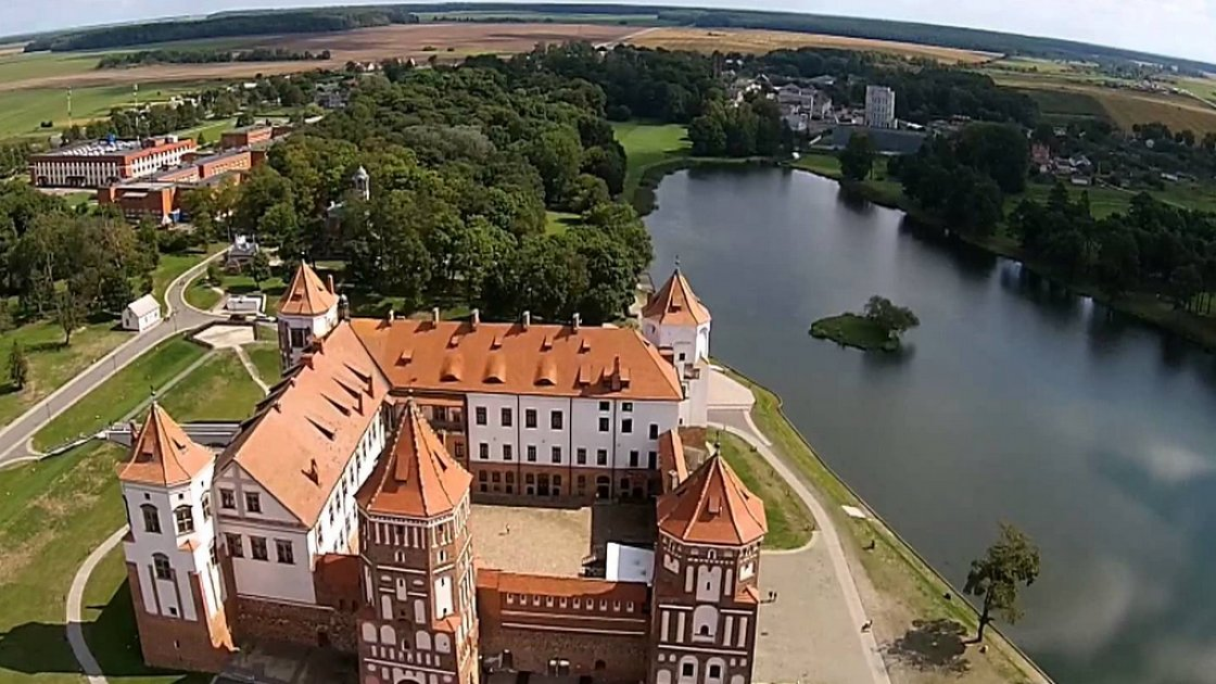 Несвижский замок в Беларуси 2