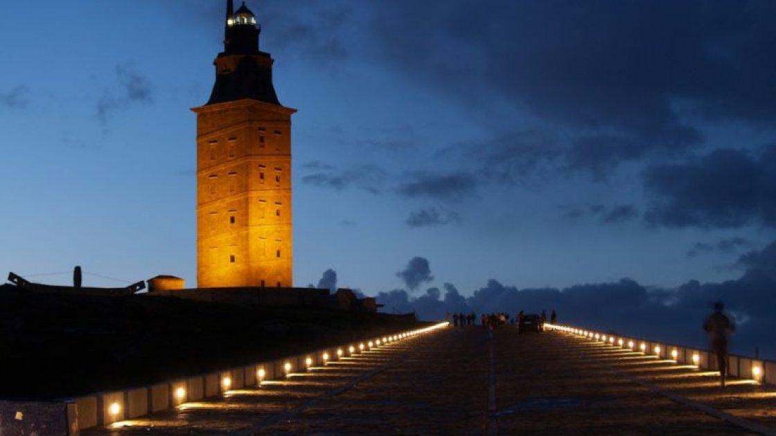 Испанский маяк Башня Геркулеса – 2