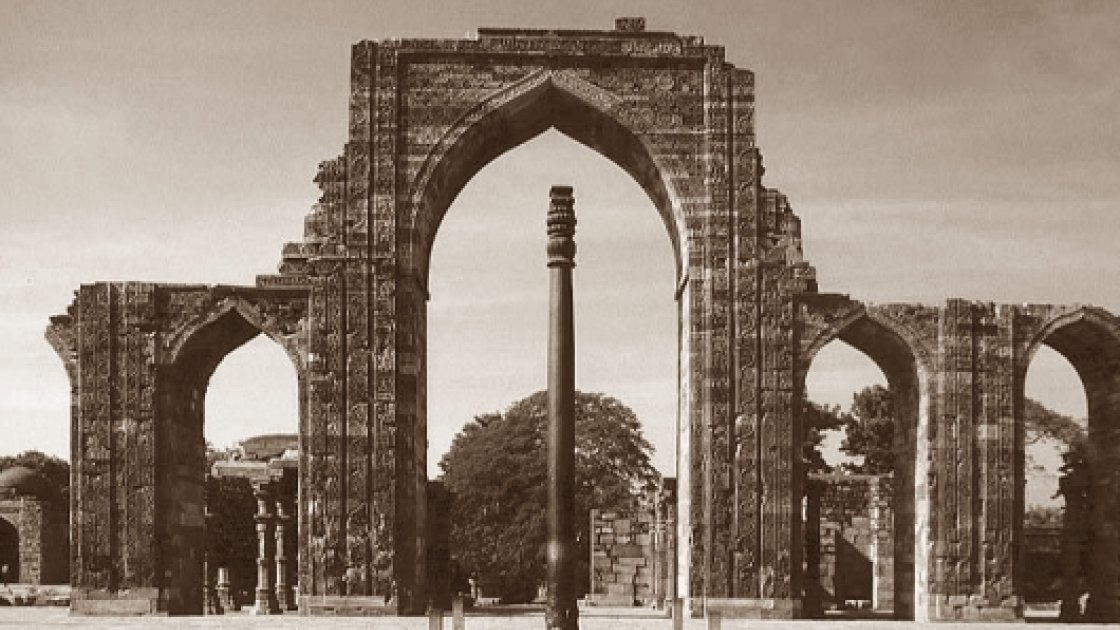 Железная колонна Чандрагупты 2
