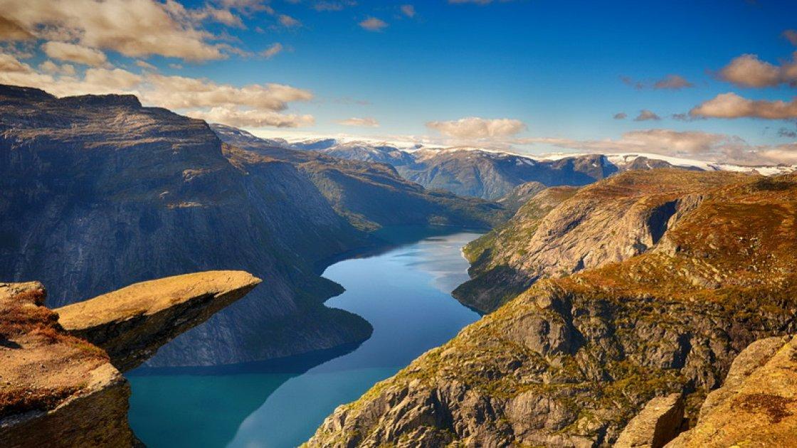 Язык Тролля в Норвегии 4