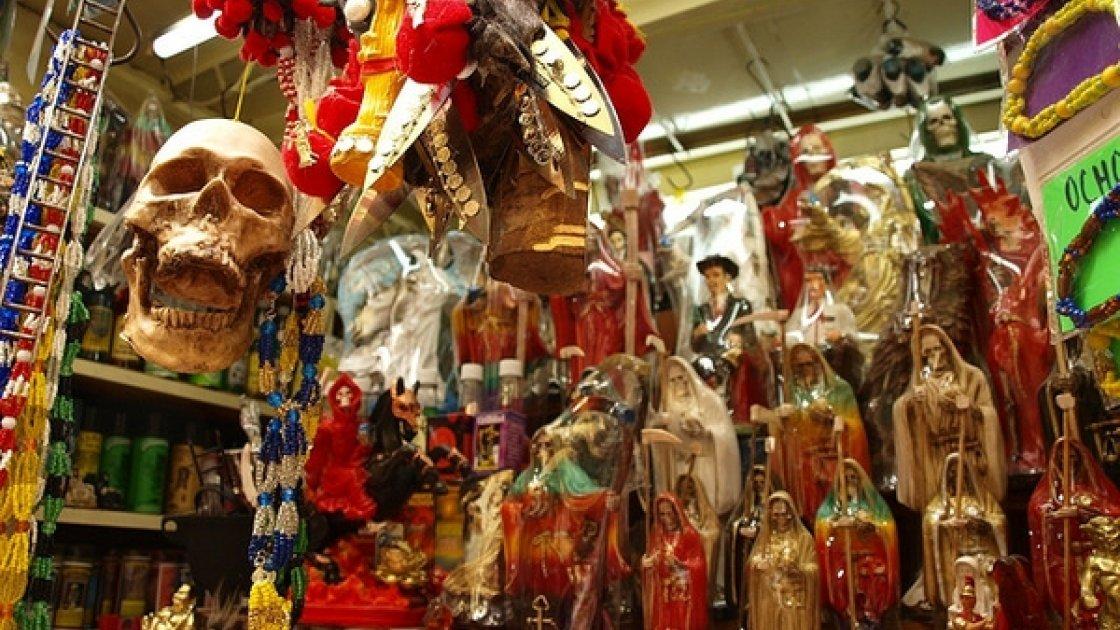 Рынок колдунов Сонора в Мексике 1