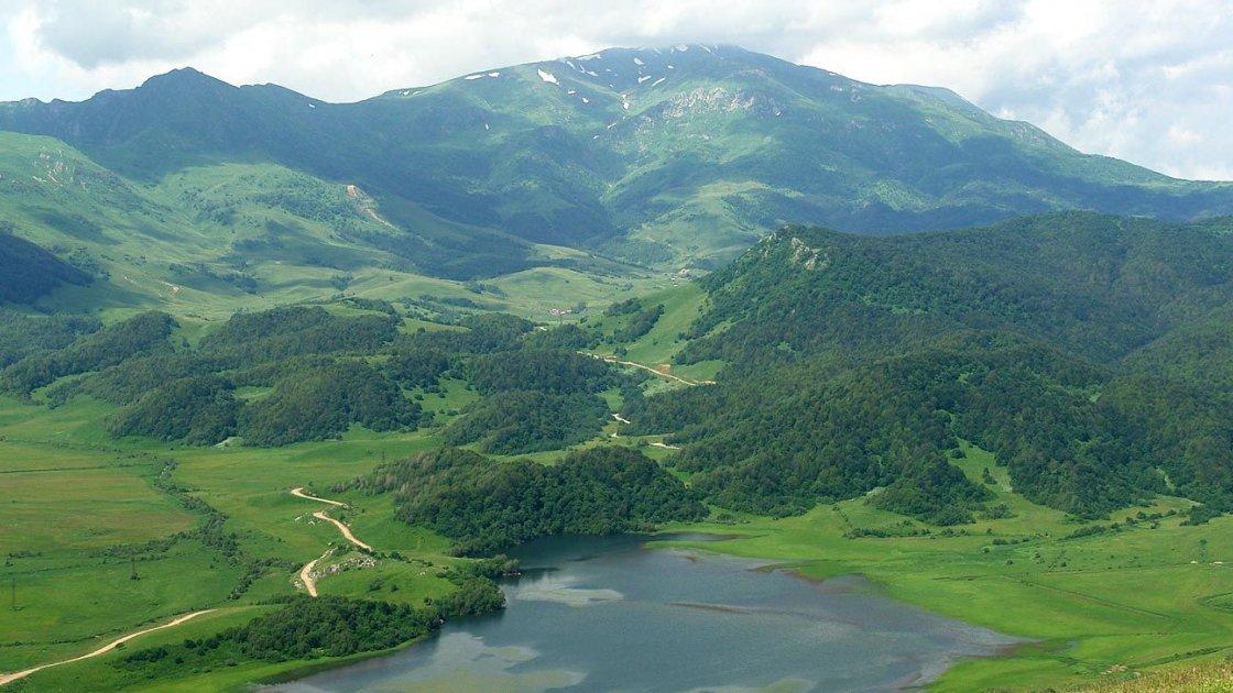 Озеро Эрцо в Южной Осетии – 1