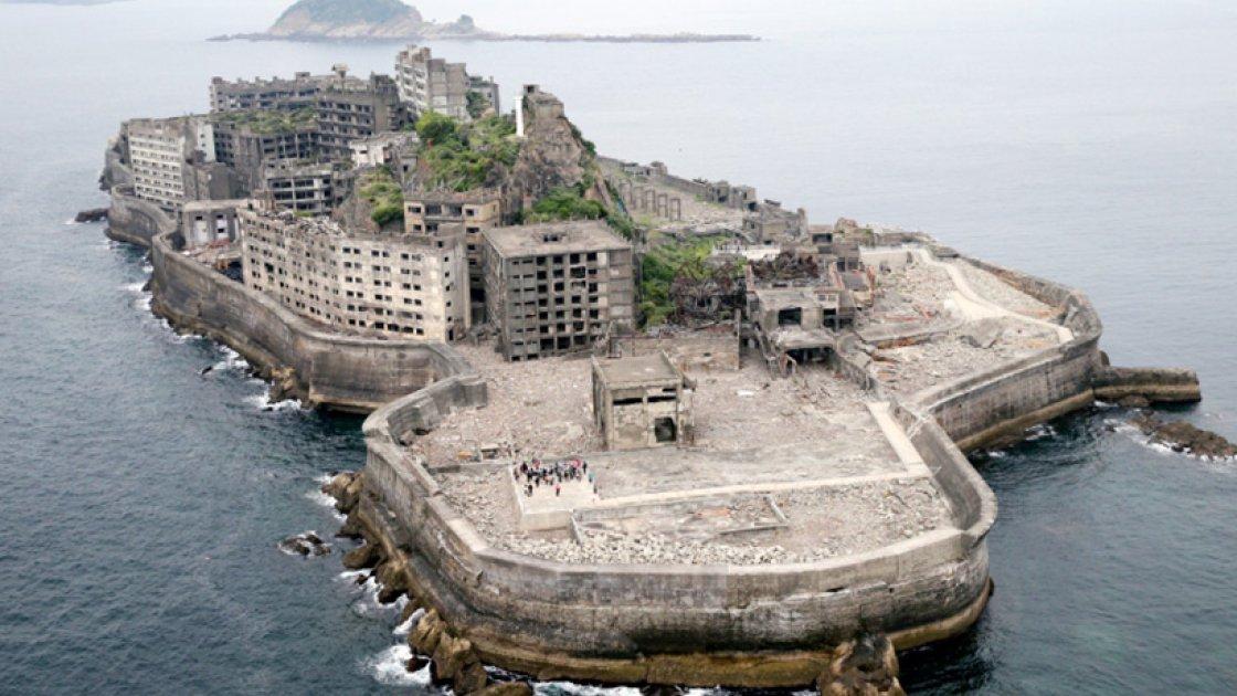 Японский остров-призрак Хасима 2