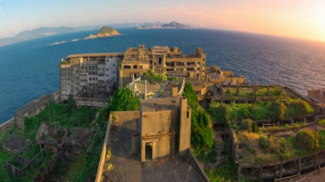 Японский остров-призрак Хасима 3
