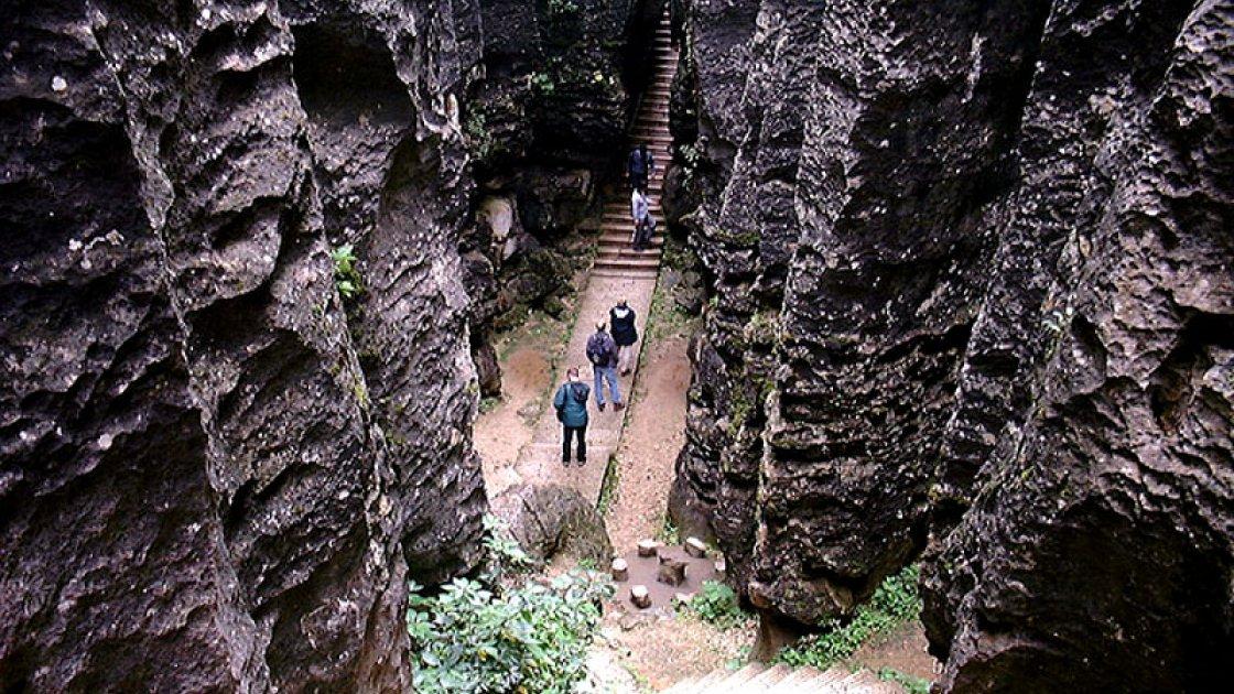 Каменный Лес Шилинь 4