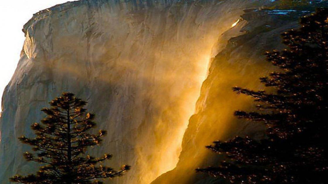 Огненный водопад «Лошадиный хвост» 5
